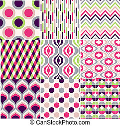 modello, colorito, seamless, geometrico