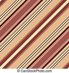 modello, diagonale, pastello, strisce, seamless, marrone