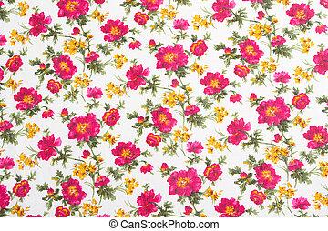 modello fiore, bouquet., seamless, cloth., floreale