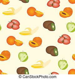 modello, frutte