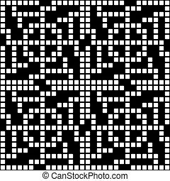 modello, geometrico, quadrato, seamless