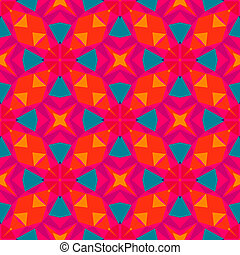 modello, luminoso, geometrico, multicolor, color.