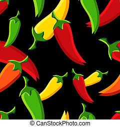 modello, peperoni, chilli