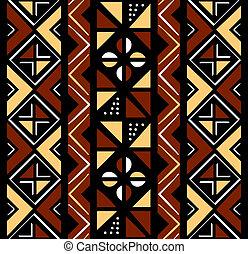 modello, seamless, africano