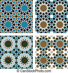 modello, seamless, geometrico