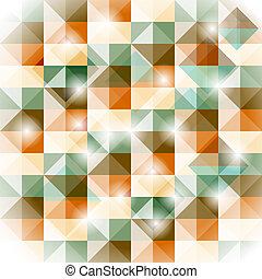 modello, seamless, vettore, geometrico, illusione, 3d