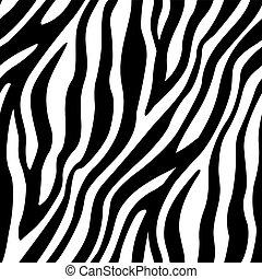 modello, seamless, zebrato, zebra