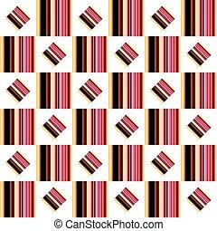 modello, squares., seamless