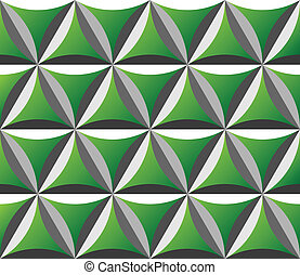 modello, verde, seamless