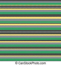 modello, verde, zag, colorito, zig