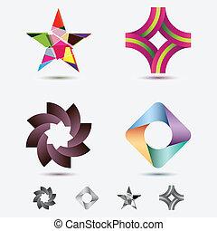 moderno, icone