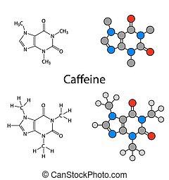 molecola, caffeina