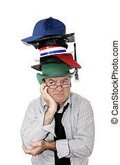 molti, cappelli