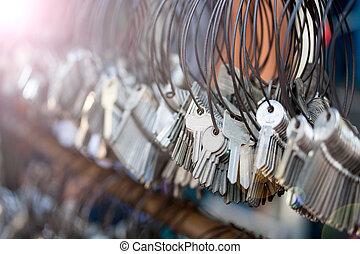molti, keychain, mazzi