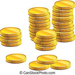 molti, monete, oro