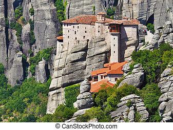 monastero, meteora, grecia