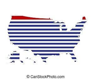 mondo, 2, america, mappa