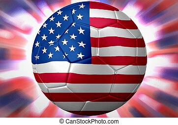 mondo, calcio, stati uniti, tazza