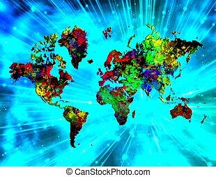 mondo, colorito