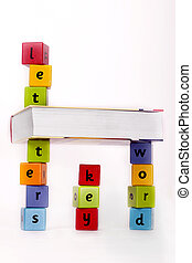 mondo, lettere, conoscenza, chiave