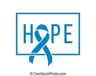 mondo, simbolo, prostata, giorno, cancro