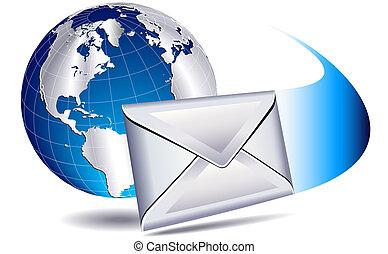 mondo, spedizione, email