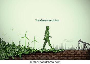 mondo, verde