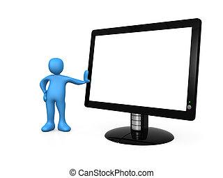 monitor, vuoto