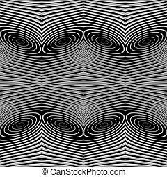 monocromatico, disegno, linee, seamless, fondo