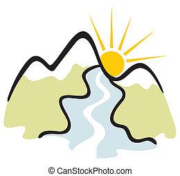 montagna, simbolo