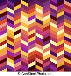 mosaico, astratto, luminoso, fondo