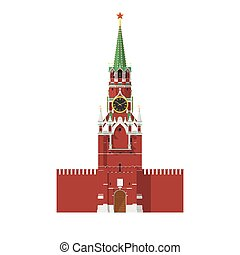 mosca, cremlino, russia, torre