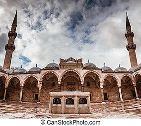 moschea, suleymaniye, tacchino, istanbul