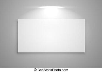 mostra, cornice, fuoco, galleria, luce, fondo