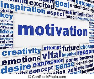 motivazione, messaggio, fondo