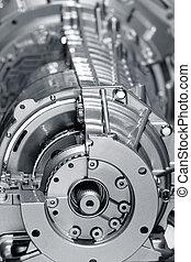 motore, alluminio