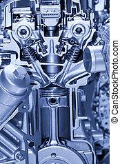 motore, automobilistico, dettagli