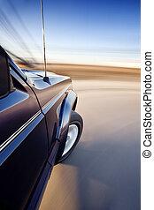 movimento, automobile