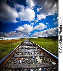 movimento, treno, offuscamento