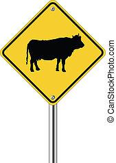 mucca, segno