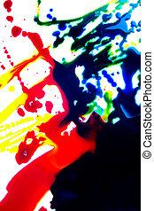 multicolor, astratto, fondo