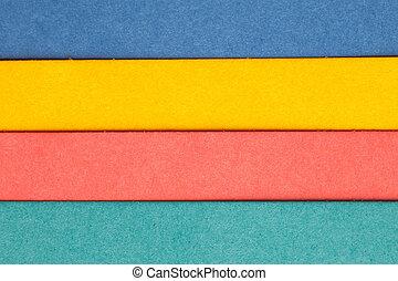 multicolor, carta, fondale