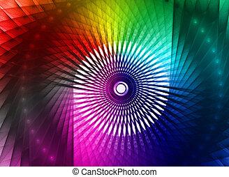 multicolor, disegno, astratto, fondo, colorito