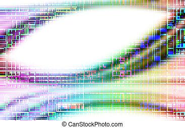multicolor, fondo