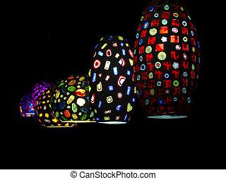 multicolor, lampada