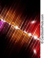 multicolor, musica, fondo