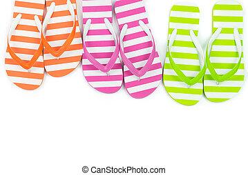 multicolor, sandali