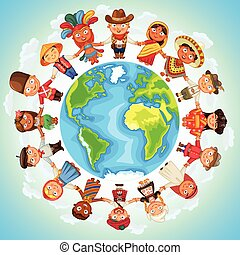 multicultural, carattere