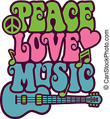 musica, amore, pace