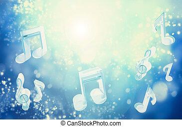 musica, astratto, fondo